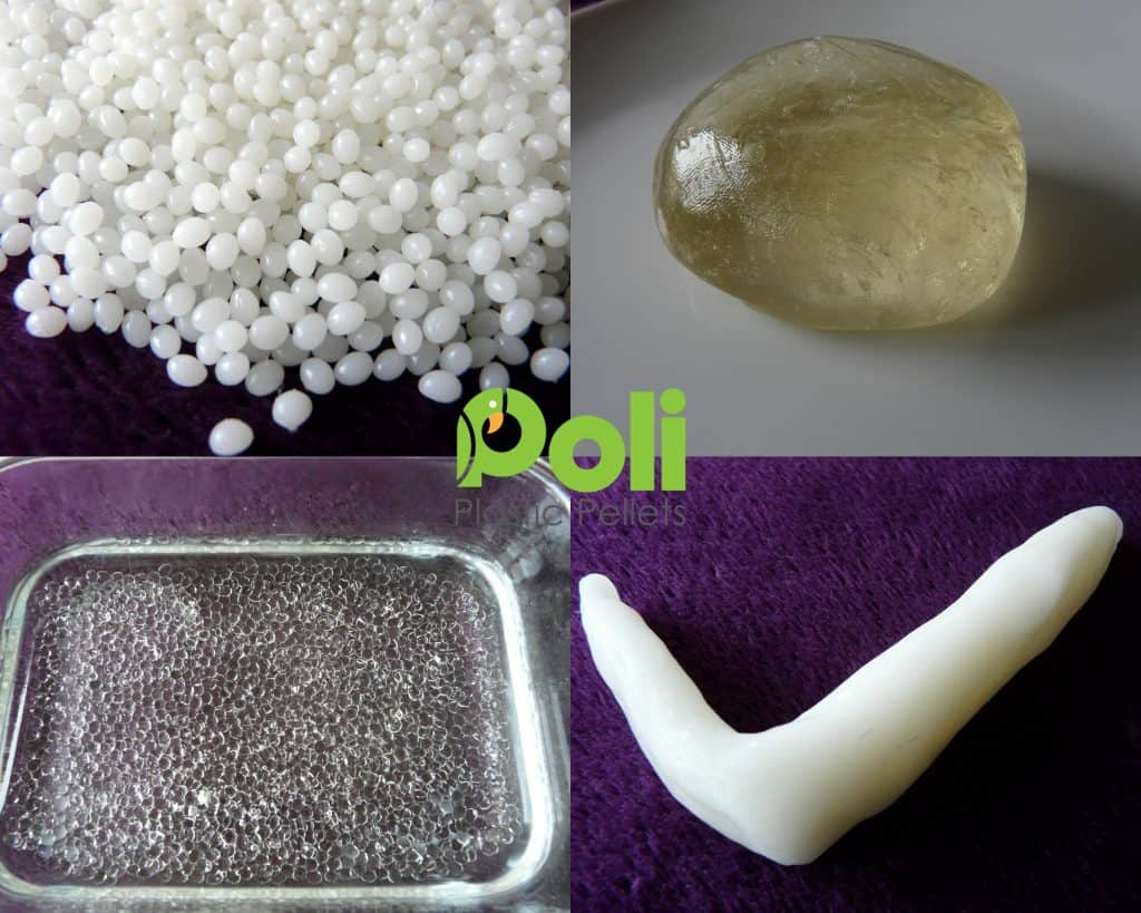 NEW COOL POLYMORPH Mouldable Plastic Pellets (42°C variant) Friendly Plastic